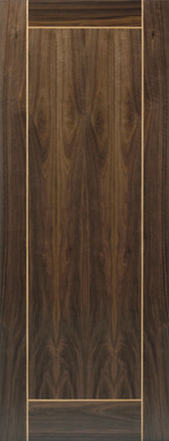Vina Fire Door: FD30 Flush *Walnut Veneer* 44mm Internal Pre-Finished Door - JB Kind Walnut Doors