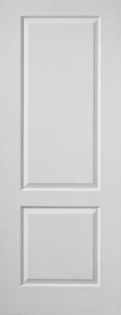 Caprice 2-Panel White Moulded Internal Door