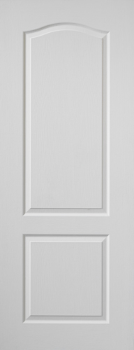 Classique Fire Door: FD30 2-Panel White Woodgrain 44mm Internal Fire Door - JB Kind White Moulded Fire Doors