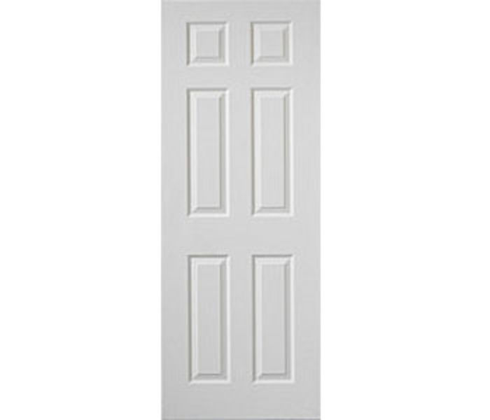 Colonist 6-Panel White Woodgrain Internal Door