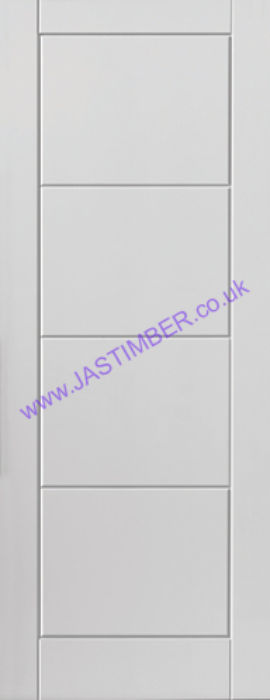 Quattro White Moulded Internal Door