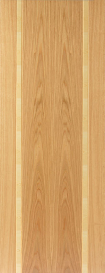 Ceylon Flush Oak Internal Door