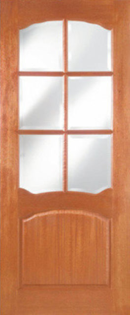 Riviera 6L Glazed CLEARANCE Door: 6-light *CBG* [Hardwood] 35mm Internal Door - JA Doors