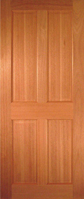 Victorian CLEARANCE Door: 4-Panel [Hardwood] 35mm Internal Door - JA Doors