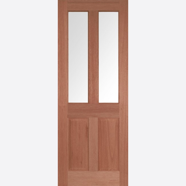 Malton Glazed Door 2-light *CBG Glazed* [Hardwood] 35mm Internal Dowel Door - LPD Essentials Doors & Malton Clear Glazed Hardwood LPD Doors