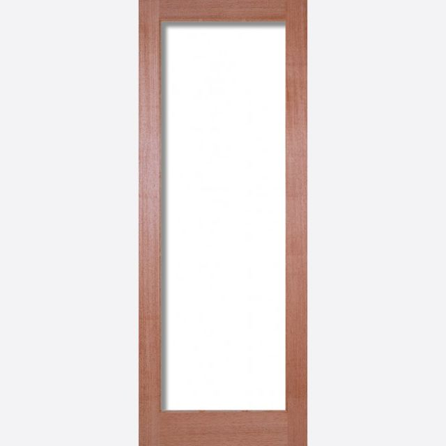 Pattern 10 Unglazed Door: 1-light (to Glaze) [Hardwood] 35mm Internal Dowel Door - LPD Essentials Doors