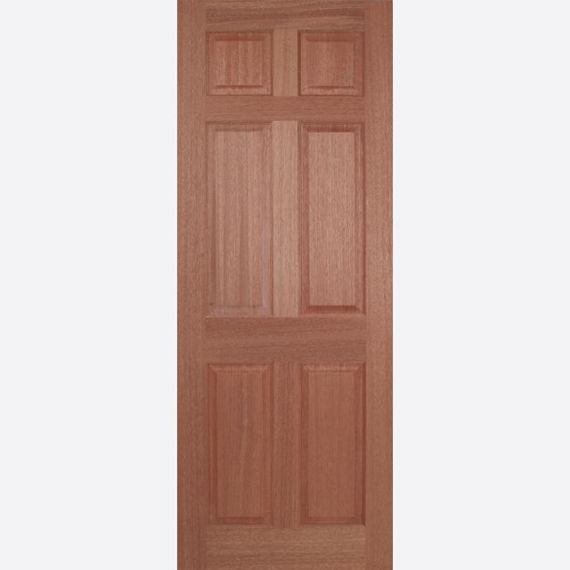 Regency Door: 6-Panel [Hardwood] 35mm Internal Dowel Door - LPD Essentials Doors