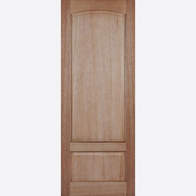 Worthing Door: 2-Panel [Hardwood] 35mm Internal Dowel Door - LPD Essentials Doors