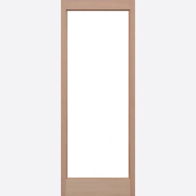 Pattern 10 Unglazed Door: 1-light *Unglazed* Hemlock Dowel 44mm External Door - LPD Trade Doors