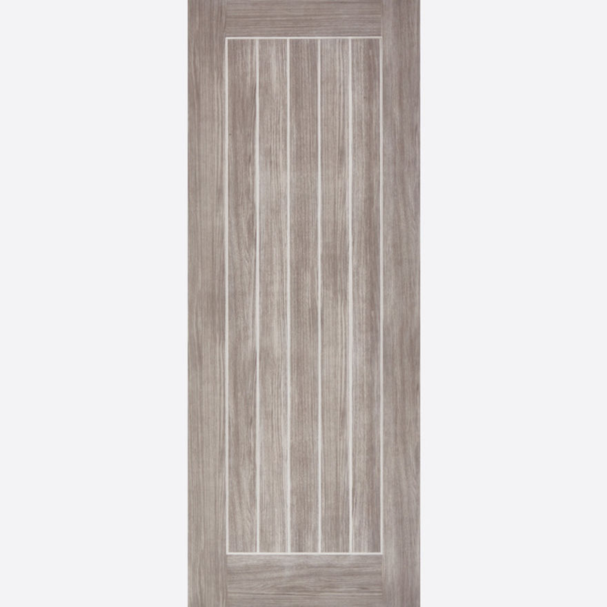 Mexicano Light Grey Laminated Door