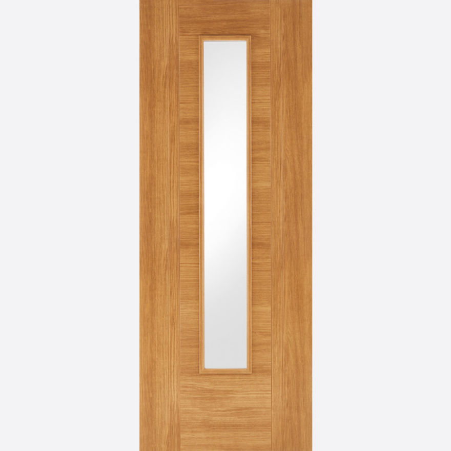 Ottawa Glazed Oak Laminated Door