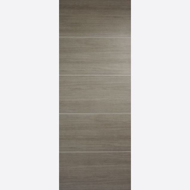 Santandor Fire Door: FD30 Flush *Pre-Finished Light Grey Laminate* 44mm Internal Fire Door - LPD Laminate Fire Doors