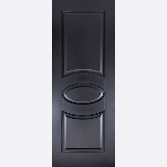 Versailles Fd30 3p Black Primed Internal Fire Door