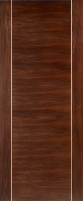 ALCARAZ DOOR: Flush *WALNUT* 35mm Pre-Finished Internal Door - LPD Doors