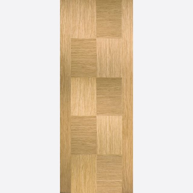 APOLLO DOOR: Flush *Pre-Finished OAK* 35mm Internal Door - LPD Door