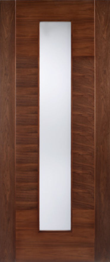 Aragon Walnut Glazed Internal Door