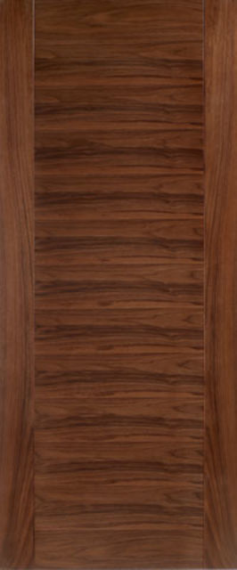 ARAGON FIRE DOOR: FD30 Flush *WALNUT* 44mm Pre-Finished Internal Fire Door - LPD Doors