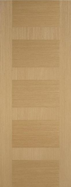MONACO FIRE DOOR: FD30 Flush *Pre-Finished OAK* 44mm Fire Door - LPD Doors
