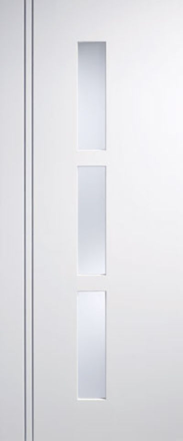 Sierra-Blanco Glazed White Internal Door
