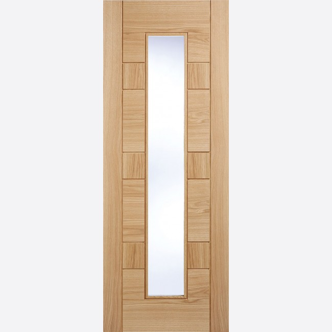 Edmonton Glazed Oak Door