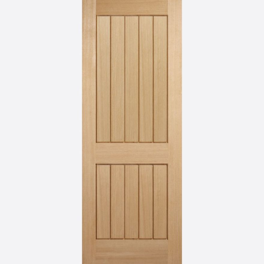 Mexicano 2-Panel Oak Door