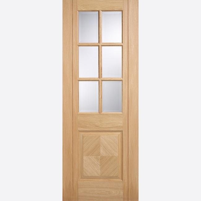 Barcelona 6l Pf Oak Internal Doors