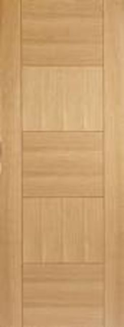 Quebec Oak Fire Door : FD30 Flush *Pre-Finished OAK* 44mm Firecheck - LPD Fire Doors