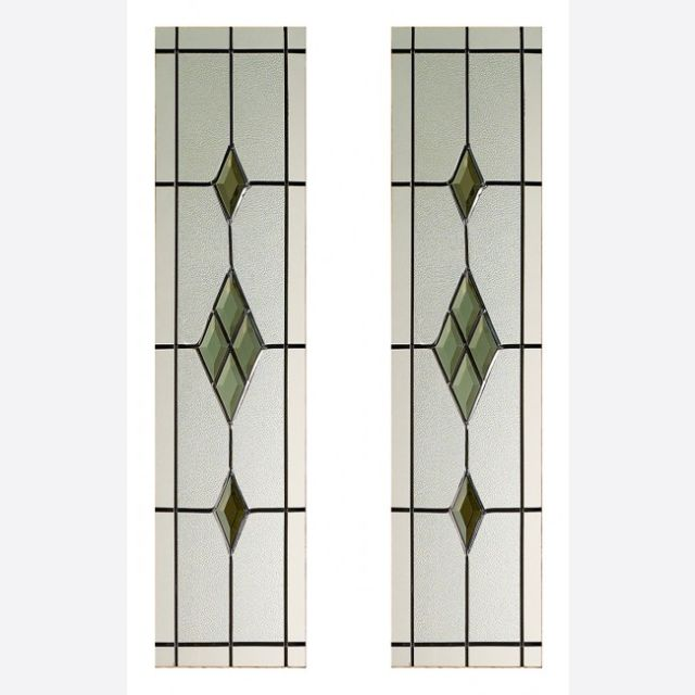 2 Piece Door Glass Pack Malton Smoked ABE-Leaded - LPD