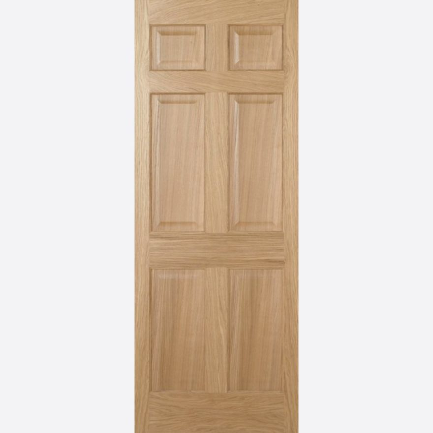 Regency 6P Unfinished Oak Door