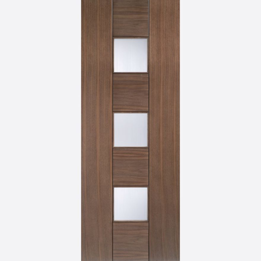 Catalonia Glazed Walnut Door