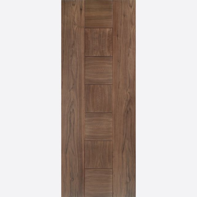 Catalonia Fire Door: FD30 Flush *Pre-Finished Walnut* 44mm Internal Fire Door - LPD Walnut Fire Doors