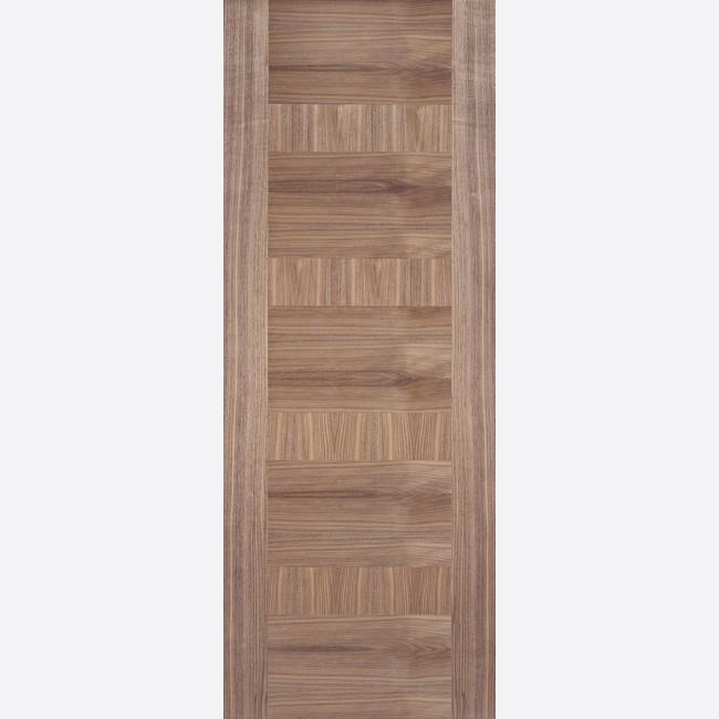 Monaco Door Flush *Pre-Finished Walnut* 35mm Internal Door - LPD Walnut Door & Monaco Walnut Internal Door