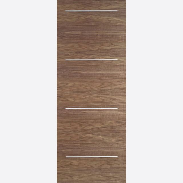 Murcia Door: Flush *Pre-Finished Walnut* 35mm Internal Door - LPD Walnut Doors