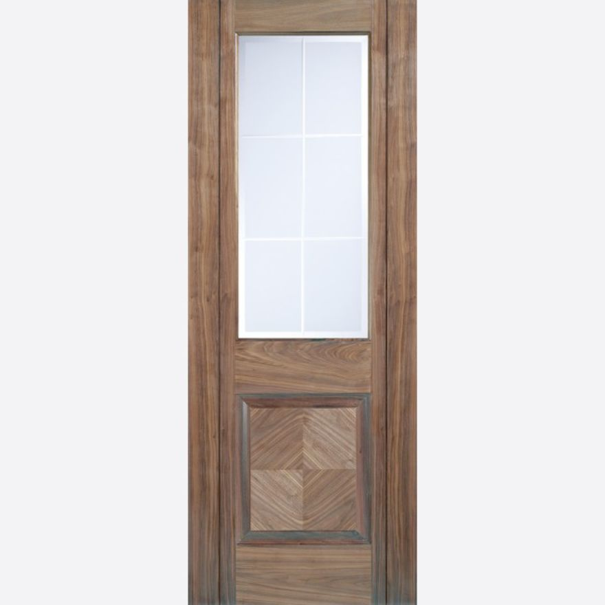 Valencia Glazed Walnut Door
