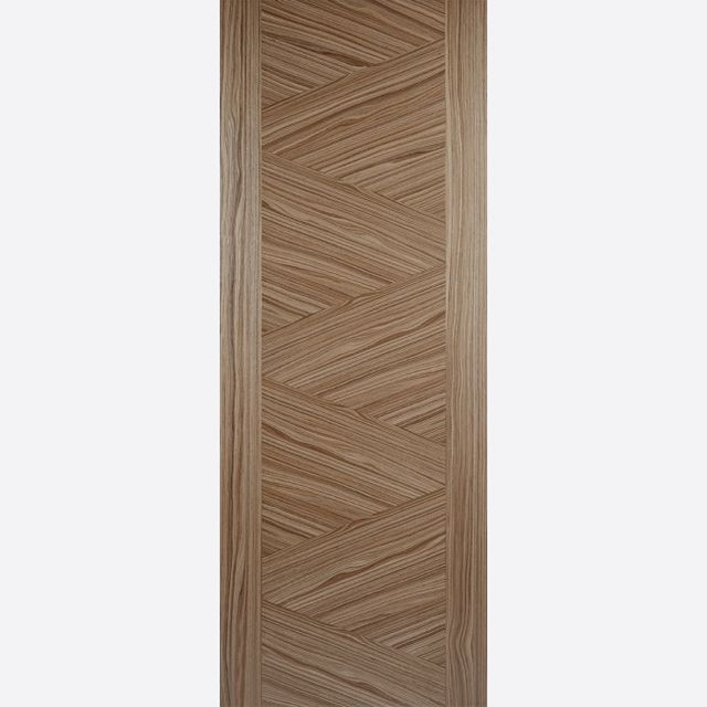 Zeus Fire Door: FD30 Flush *Pre-Finished Walnut* 44mm Internal Fire Door - LPD Walnut Fire Doors
