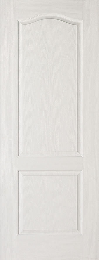 Classical 2-Panel White Moulded Internal Door