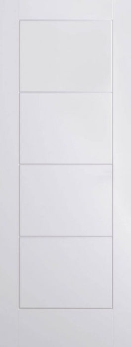 Ladder White Moulded Door
