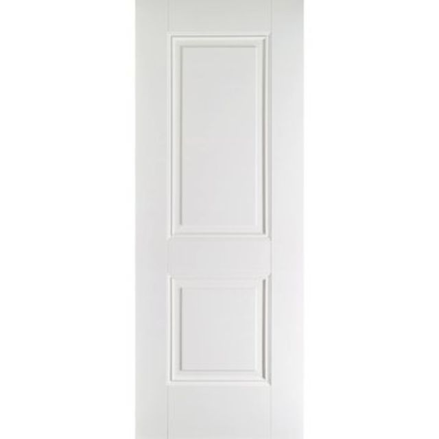 Arnhem Fire Door: FD30 2-Panel *White Primed* 44mm Internal Fire Door - LPD White Fire Doors