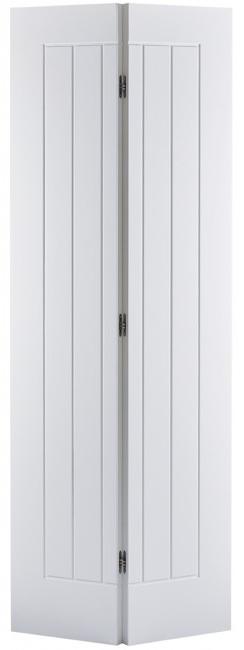 Mexicano Bi Fold White Primed Lpd Door