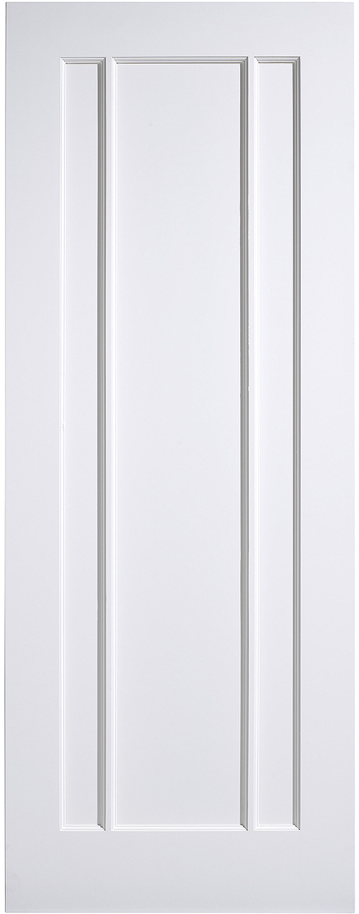 Lincoln White Primed Lpd Fire Door