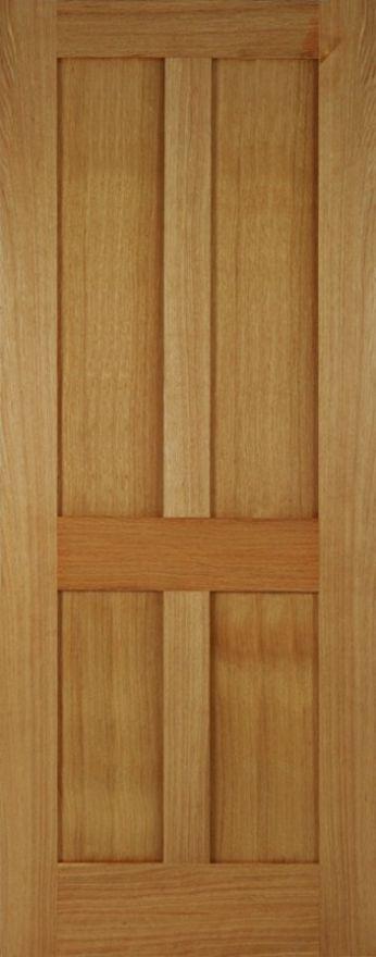 Mendes Bristol Oak Shaker Style 4p Flat Panel Door