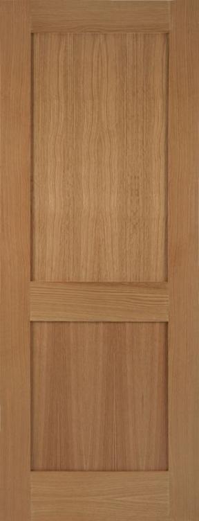 Mendes Marlborough Fd30 Oak Shaker Style 2p Flat Panel
