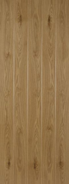 L&B Door - Oak 40mm Unfinished - Mendes Doors
