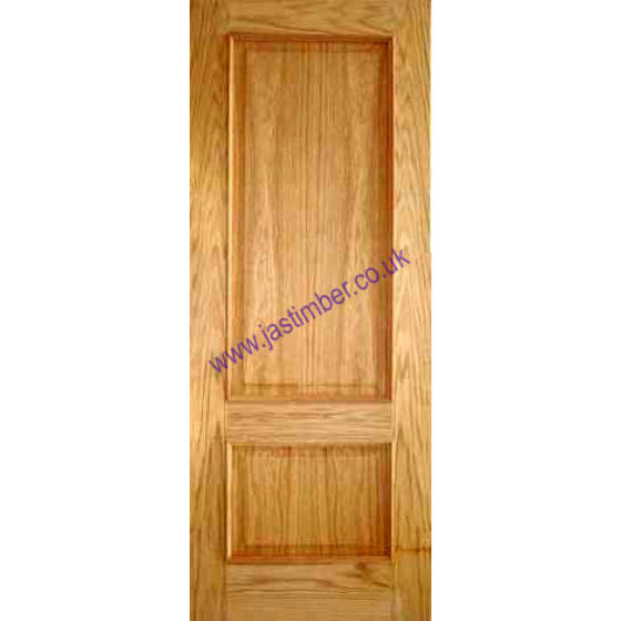 Iris Door: 2-Panel *OAK* +RM+ 35mm Internal - Mendes Doors