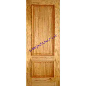 Photography of IRIS DOOR: 2-Panel *OAK* +RM+ 35mm Internal Door - PMM
