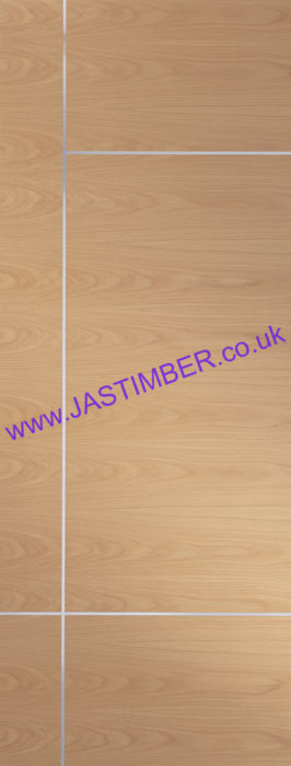 Caserta Pre-Finished Oak Internal Door - XL Joinery Doors