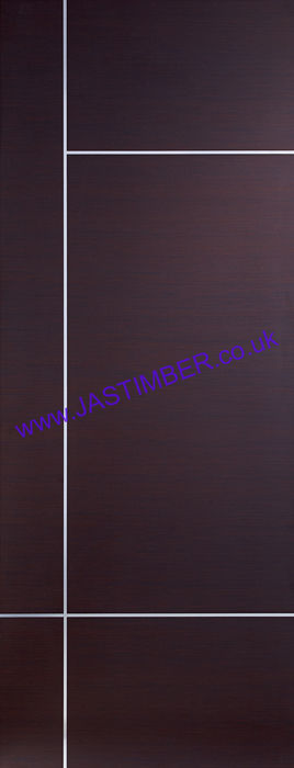 Caserta Pre-Finished Wenge Internal Door - XL Joinery Doors
