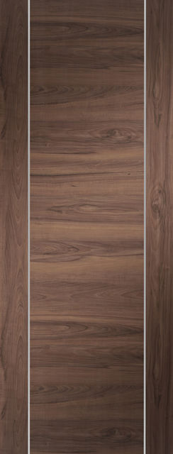 Forli Door: Architectural Flush Pre-Finished Walnut-Veneer 35mm Internal - XL Doors