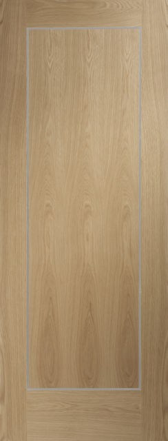 Varese Fire Door: FD30 Architectural Flush *Pre-Finished Oak* 44mm Internal Fire Door - XL Doors