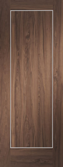 Varese Door: Architectural Flush [Pre-Finished Walnut] 35mm Internal Door - XL Doors